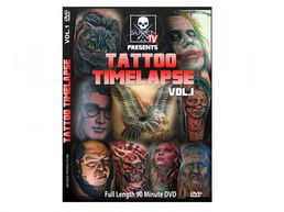 Sullen TV Presents Tattoo Timelapse Volume 1 DVD