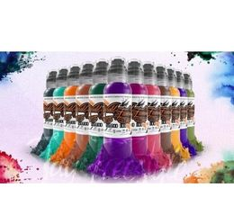 World Famous Ink - Jay Freestyle Watercolour Set - 12 x 30ml (alv0% 120,16€)