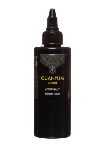 Quantum Tattoo Ink Assphalt 30ml (alv0% hinta 12,10€)