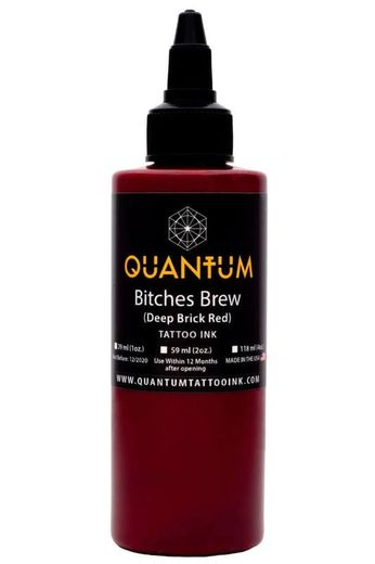Quantum Tattoo Ink Bitches Brew 30ml (alv0% hinta 12,10€)