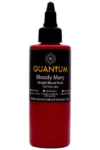 Quantum Tattoo Ink Bloody Mary 20ml  (alv0% hinta 8,79€)