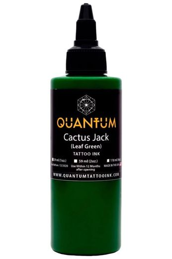 Quantum Tattoo Ink Cactus Jack 30ml (alv0% hinta 12,10€)