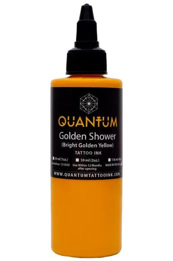 Quantum Tattoo Ink Golden Shower 20ml (alv0% hinta 8,79€)