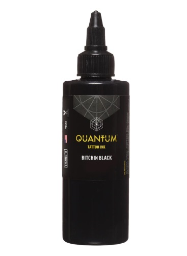 Quantum Tattoo Ink Bitchin Black 30ml (alv0% hinta 12,90€)