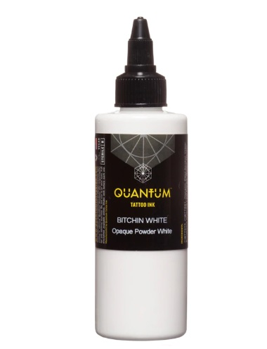 Quantum Tattoo Ink Bitchin White 120ml (alv0% hinta 44,35€)