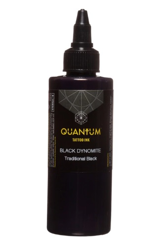Quantum Tattoo Ink *Black Dynomite  20ml (alv0% hinta 8,79€)