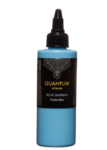 Quantum Tattoo Ink Blue Shaboo 20ml (alv0% hinta 8,79€)