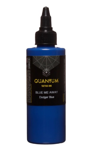 Quantum Tattoo Ink Blue Me Away 20ml (alv0% hinta 8,79€)