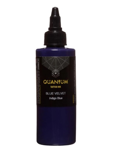 Quantum Tattoo Ink Blue Velvet20ml (alv0% hinta 8,79€)
