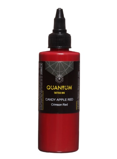 Quantum Tattoo Ink Candy Apple Red 20ml  (alv0% hinta 8,79€)