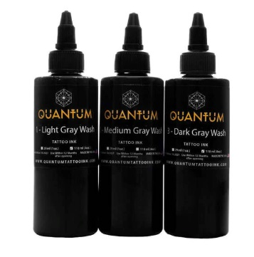 Quantum Tattoo Ink Graywash Set 3x 30ml (alv0% hinta 32,26€)