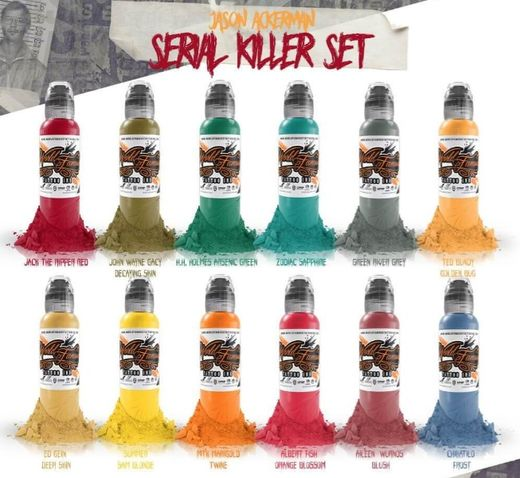 WFI - Jason Ackerman Serie Killer set 12x30ml (alv0% 120,16€)