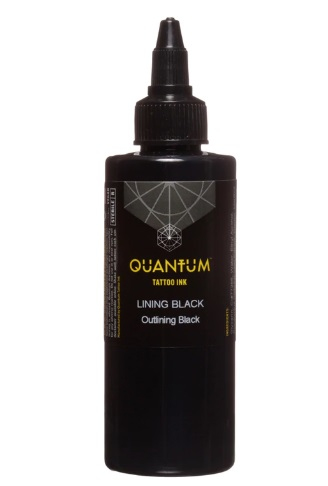 Quantum Tattoo Ink Lining Black  30ml (alv0% hinta 12,10€)