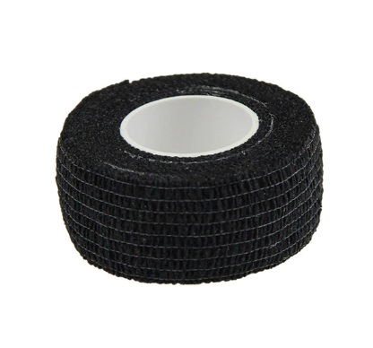 Grip Cover tape - Black (2,34€ alv0%)