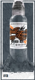 World Famous Ink - A.D. Pancho Paster Grey #3 - 30 ml