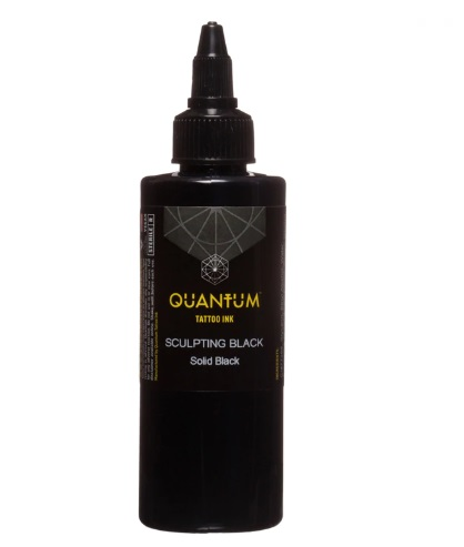 Quantum Tattoo Ink *Sculpting Black  20ml (alv0% hinta 8,79€)