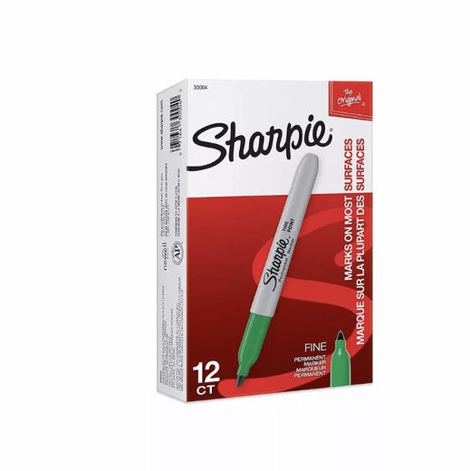 Sharpie GREEN (1,69€ alv 0%)