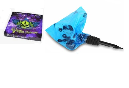 Blue Skull Tattoo Machine Bags 250kpl (alv0% 6,85€)