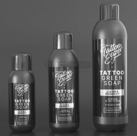 Tattoo Eazer Green Soap