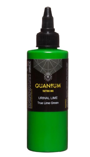 Quantum Tattoo Ink Urinal Lime 20ml (alv0% hinta 8,79€)