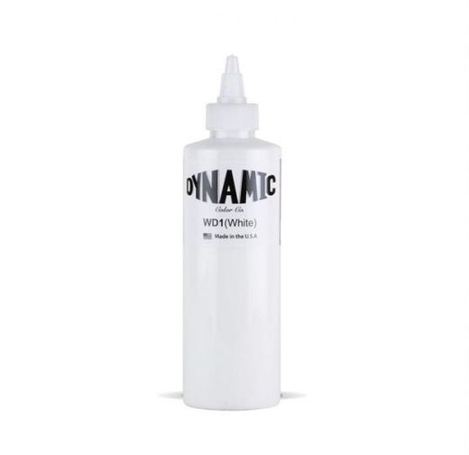 Dynamic Tattoo Ink White 240ml (alv 0% 39,52€)