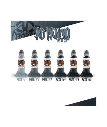 WFI - A.D. Pancho Pastel Grey set 6X30ml (alv0% 63,70€)