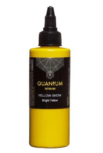 Quantum Tattoo Ink Yellow Snow 20ml (alv0% hinta 8,79€)